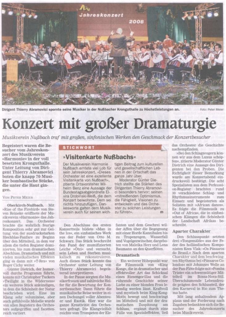 Jahreskonzert (2008)