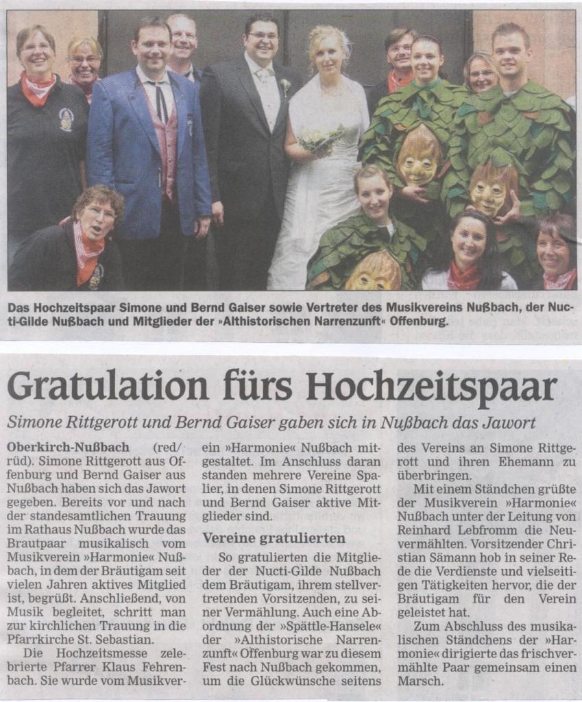 Hochzeit Bernd und Simone Gaiser